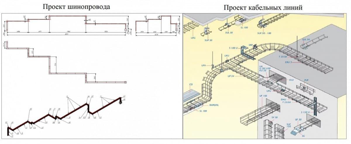 Шинопровод Bafen удобен в проектировании