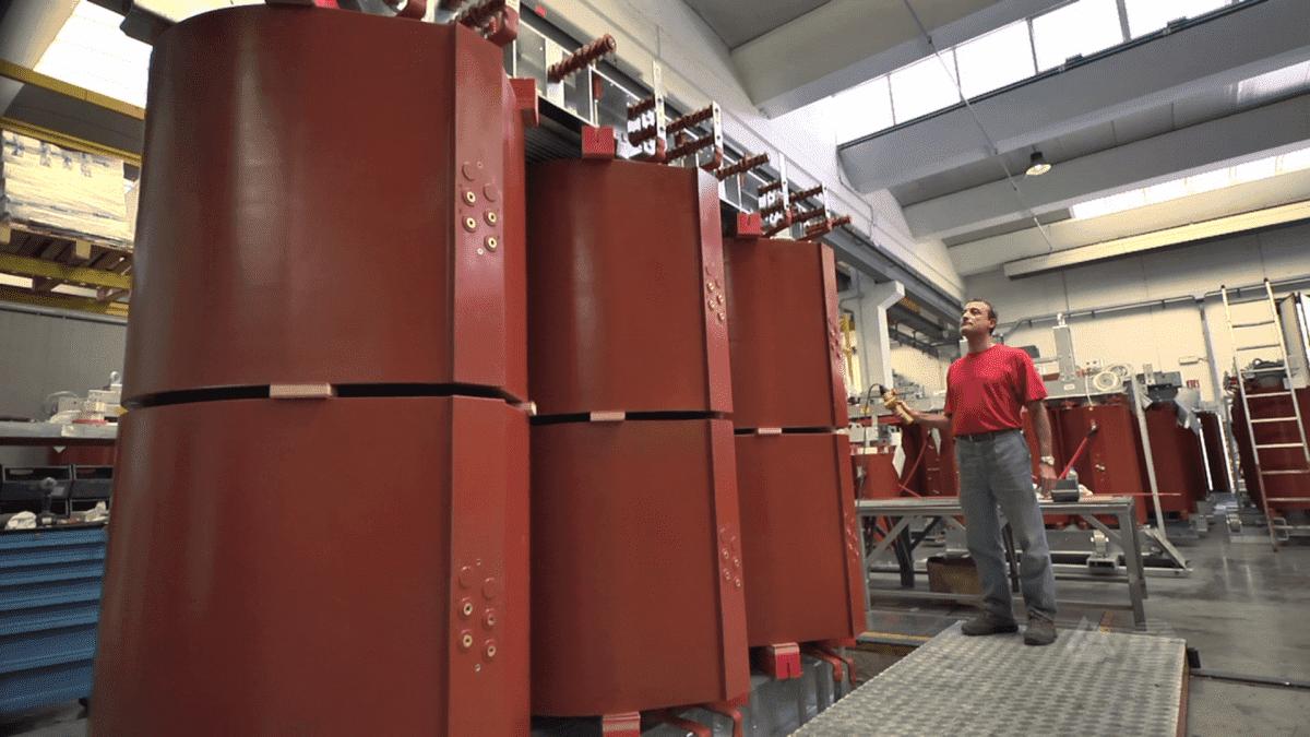 Сухие трансформаторы с расщепленными обмотками