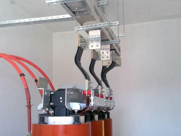 Подключение шинопровода на трансформаторной подстанции