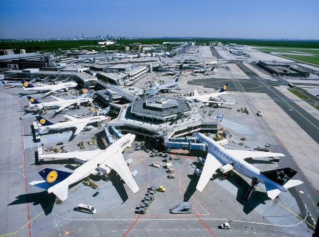 Аэропорт Франкфурт-на-Майне, установлены трансформаторы Tesar