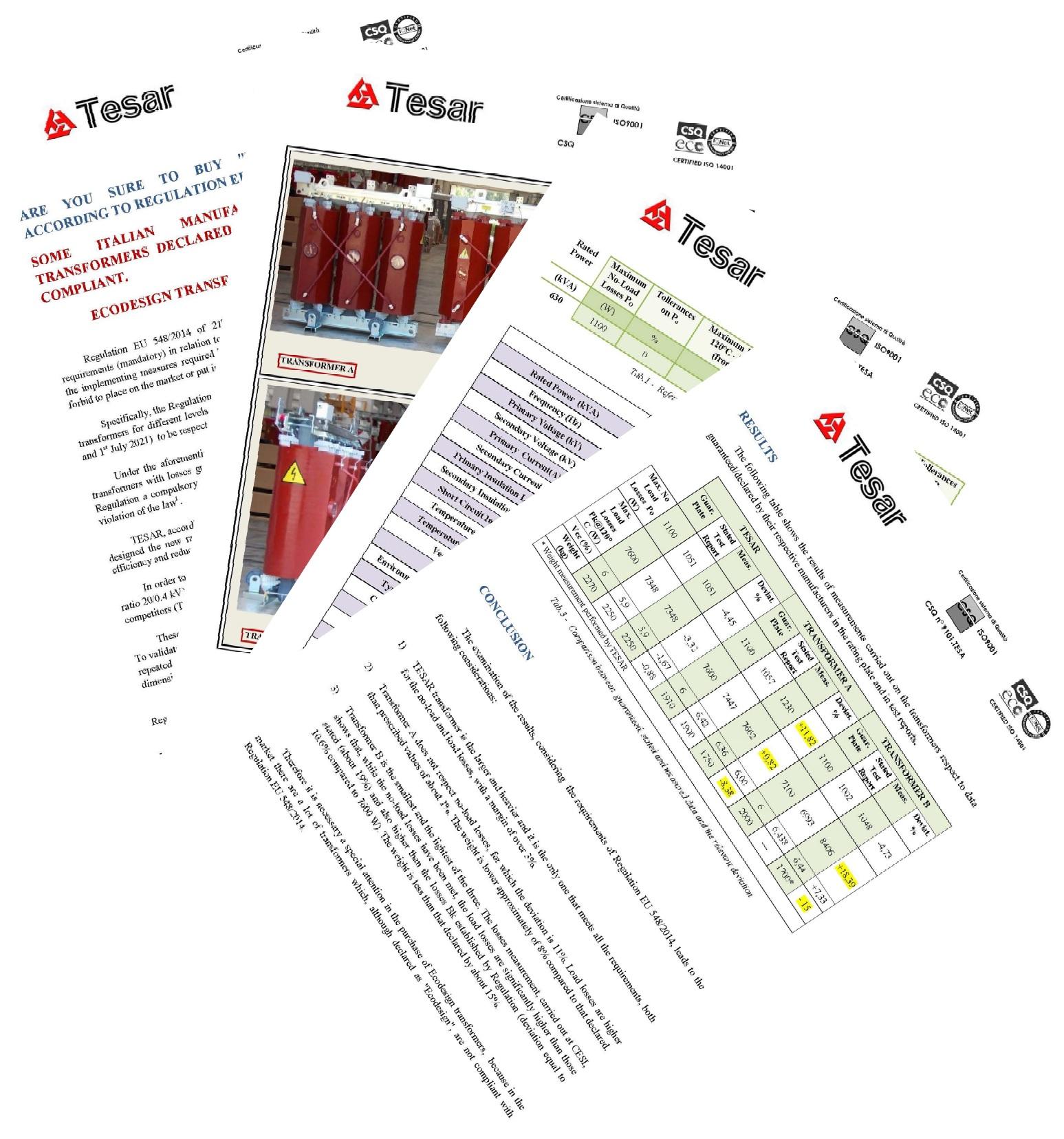 Отчет по Tesar